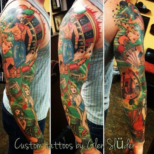 Glen Sluder Adora Tattoo