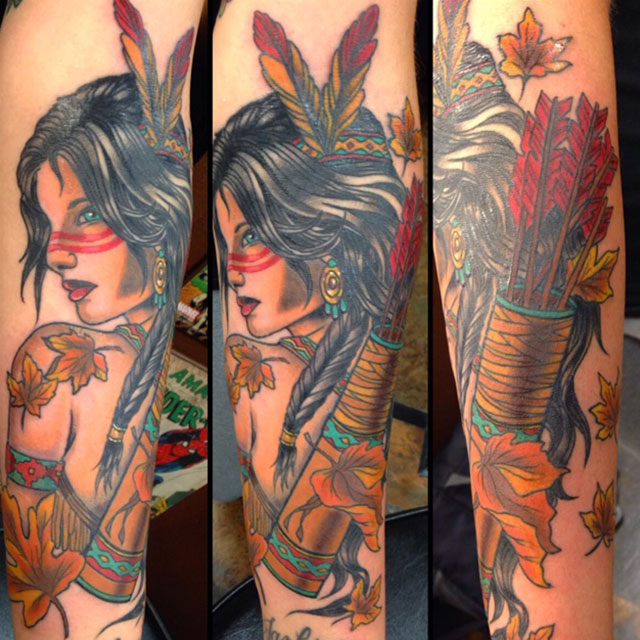 Glen Sluder Adora Tattoo